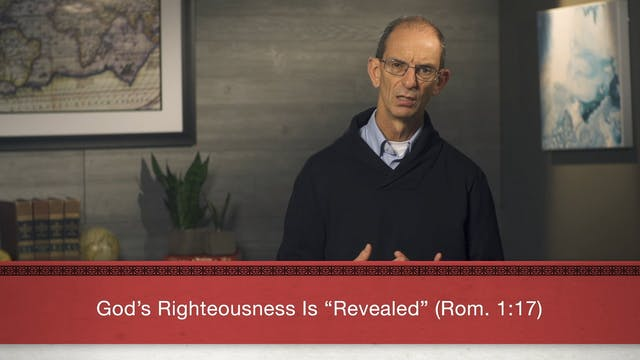 Faith Alone - Session 14 - Righteousn...