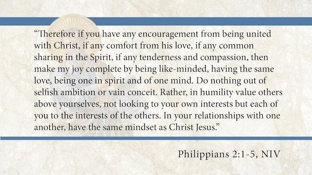 Philippians, A Video Study - Session 6 - Philippians 2:1-5