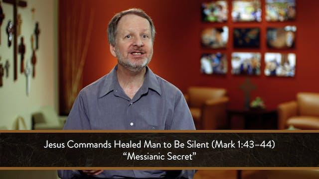 Mark - Session 9 - Mark 1:40-45