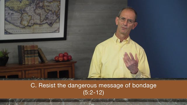 Galatians, A Video Study - Session 20...