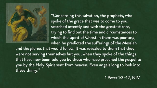 1 Peter - Session 3 - 1 Peter 1:3-12