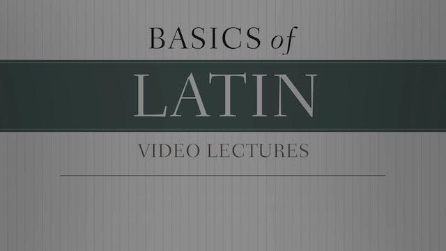 Basics of Latin - Session 27 - Perfec...