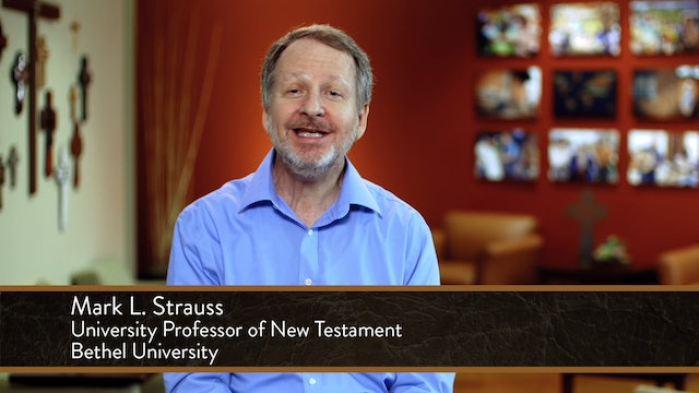 Mark - Session 1 - Introduction to Mark's Gospel