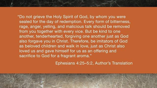 Ephesians (ZECNT) - Session 12 - Ephesians 4:25-5:2