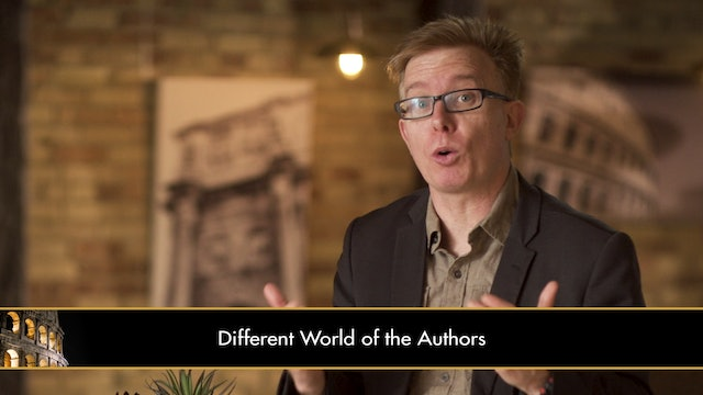 The New Testament in Its World - Session 3 - The New Testament as Literature