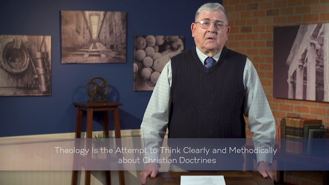 Intro to Christian Philosophical Theology - Session 2 - What Is It?