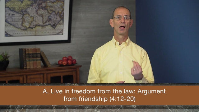 Galatians, A Video Study - Session 19 - Galatians 4:21-5:1