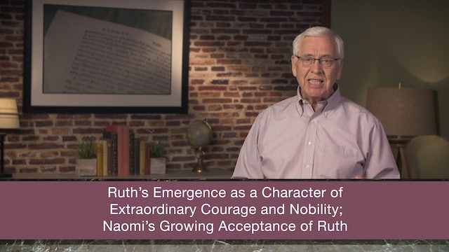 Ruth - Session 3 - Ruth 1:6-22