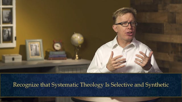 Evangelical Theology - Session 1.5 - ...