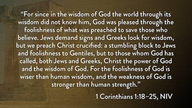 1 Corinthians - Session 5 - 1 Corinth...