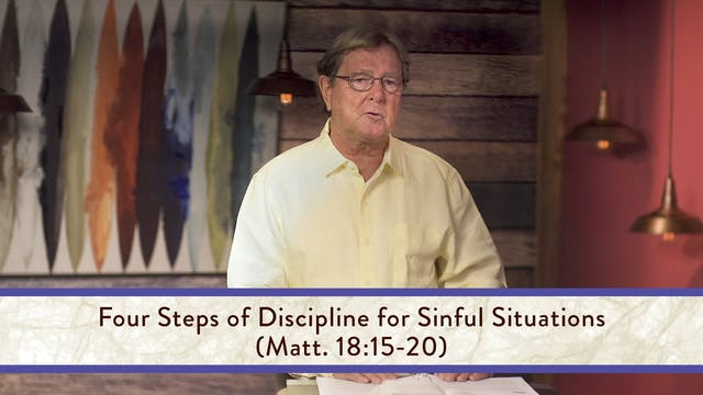 Matthew - Session 27 - Matthew 18:1-35