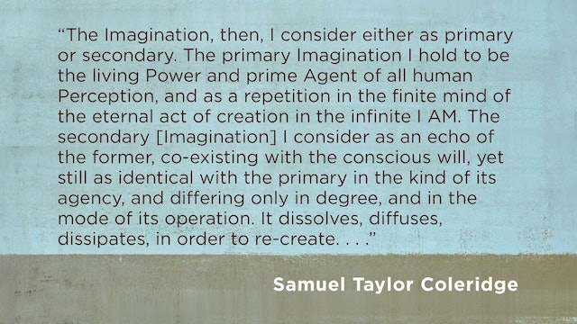Cultural Apologetics - Session 8 - Imagination: Part 2