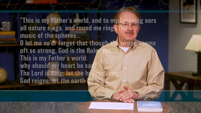 Essentials of Christian Thought - Session 12- The Biblical-Christian Perspective