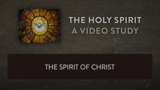 The Holy Spirit - Session 7 - The Spirit of Christ