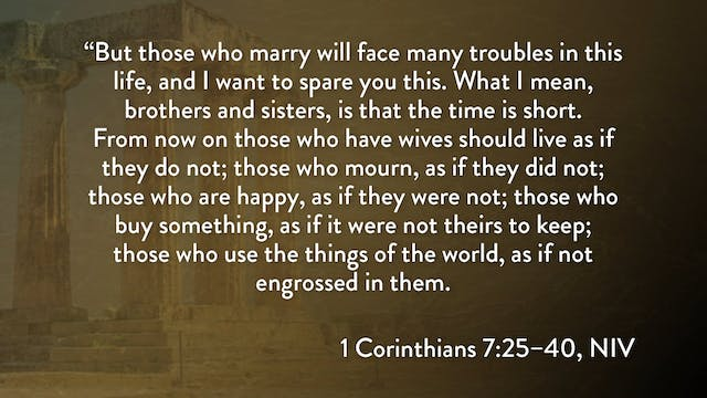 1 Corinthians - Session 16 - 1 Corint...