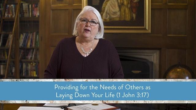 1, 2, and 3 John - Session 11 - 1 John 3:11-18