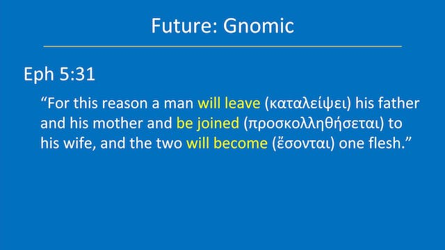 Greek for the Rest of Us - Lesson 28 ...