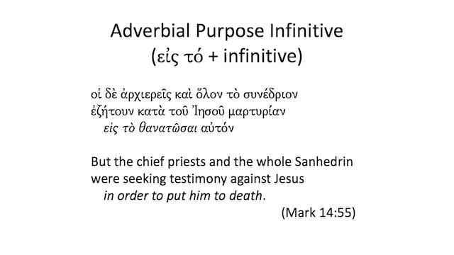 Intro to Biblical Greek - Session 23 ...