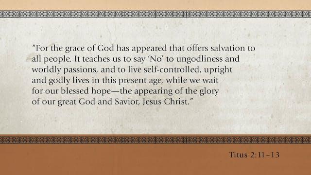 God's Glory Alone -Session 14- Glorif...