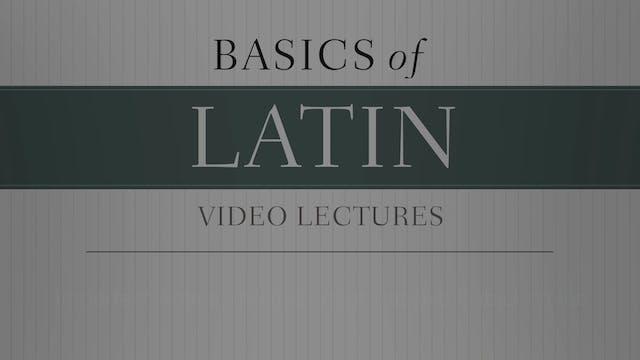 Basics of Latin -Session 21 - Imperfe...
