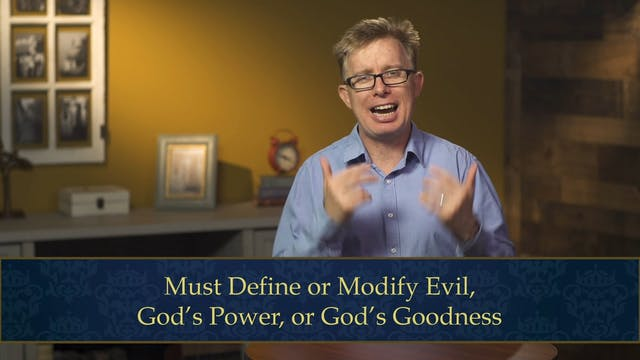 Evangelical Theology - Session 7.5 - ...