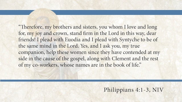 Philippians, A Video Study - Session 12 - Philippians 4:1-3