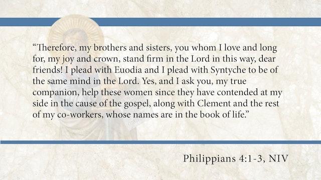 Philippians, A Video Study - Session 12 - Philippians 4:1-3