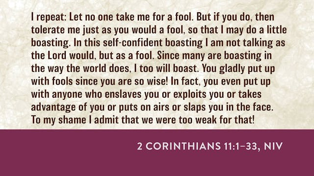 2 Corinthians - Session 17 - 2 Corint...