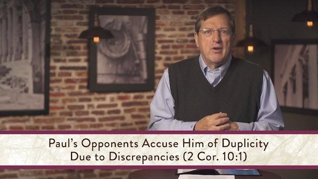 2 Corinthians - Session 16 - 2 Corinthians 10:1-18