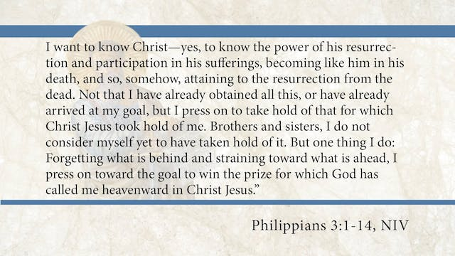 Philippians, A Video Study - Session ...
