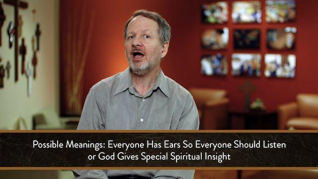 Mark - Session 17 - Mark 4:1-20