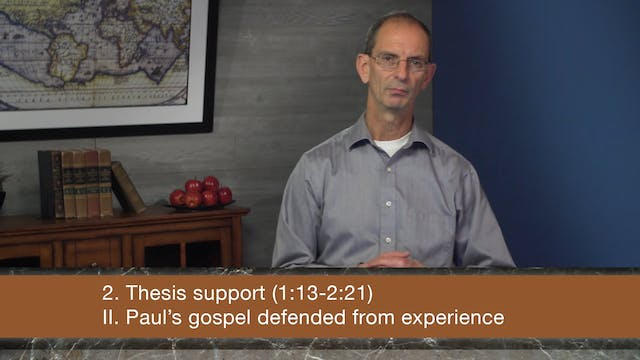 Galatians, A Video Study - Session 10...