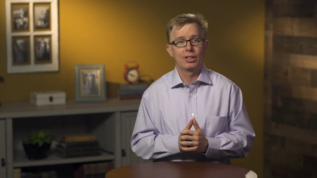 Evangelical Theology - Session 8.5 - ...