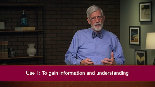 Introduction to Biblical Interpretation - Session 11 - Using the Bible Today
