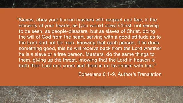 Ephesians (ZECNT) - Session 16 - Ephe...