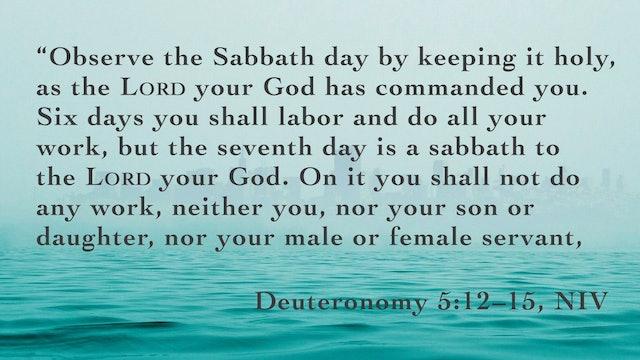 Survival Guide for the Soul - Session 6 - Sabbath