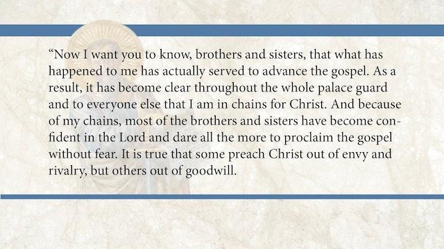 Philippians, A Video Study - Session 3 - Philippians 1:12-18a