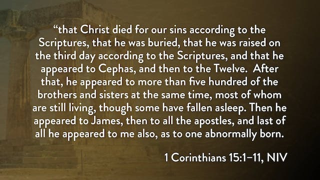 1 Corinthians - Session 30 - 1 Corint...