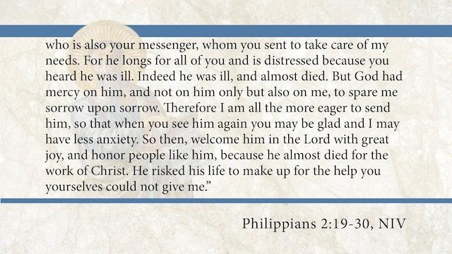 Philippians, A Video Study - Session 9 - Philippians 2:19-30