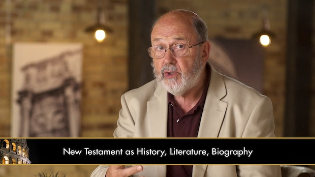 The New Testament in Its World -Session 1 - Beginning Study of the New Testament