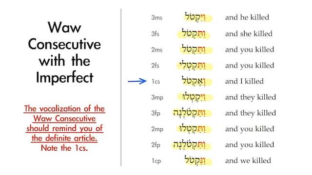 Basics of Biblical Hebrew - Session 1...