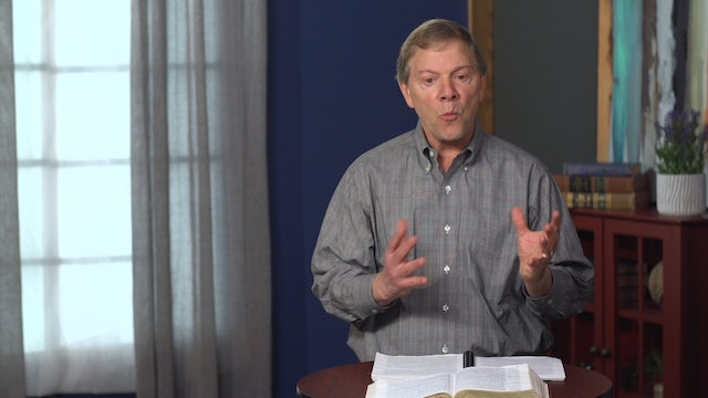 Conformed to His Image - Session 6 - Paradigm: Can We Trust God?