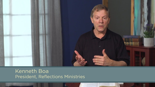 Conformed to His Image - Session 20 - Holistic: Relationships, Work, and Society