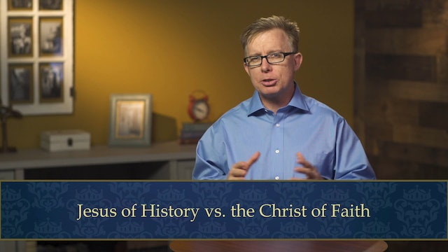 Evangelical Theology - Session 4.1-2- Gospel of God's Son, Christological Method