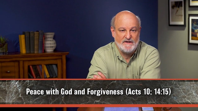 A Theology of Luke and Acts - Session 5 - Salvation of God and Its Dimensions