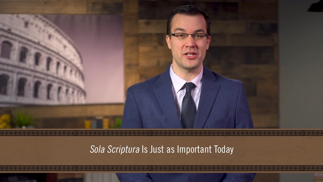 God's Word Alone - Session 1 - Introduction: Sola Scriptura