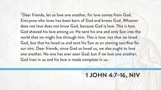 1, 2, and 3 John - Session 14 - 1 John 4:7-16