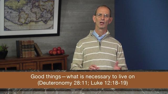 Galatians, A Video Study - Session 25 - Galatians 6:6-10