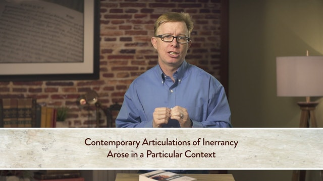 Five Views on Biblical Inerrancy - Session 3 - Inerrancy Outside the USA (Bird)