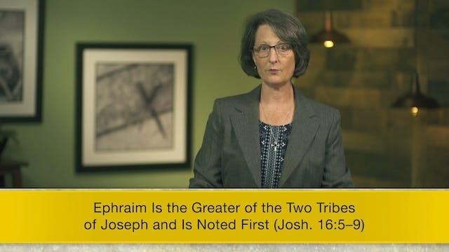Joshua - Session 18 - Joshua 16:1-17:18